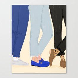 Legs For Days Canvas Print