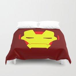 Minimalist Iron Man Duvet Cover