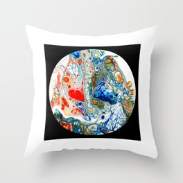 stone factory Throw Pillow