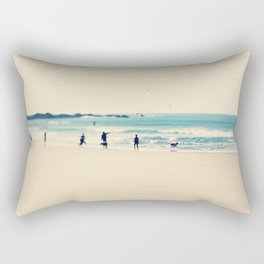 beach sunday I Rectangular Pillow