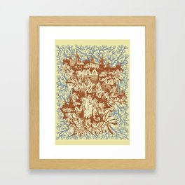 Several Arguments Framed Art Print
