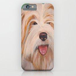 Terrier Portrait iPhone Case
