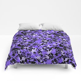 Ultraviolet Splash Comforters