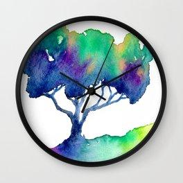 Hue Tree III Wall Clock