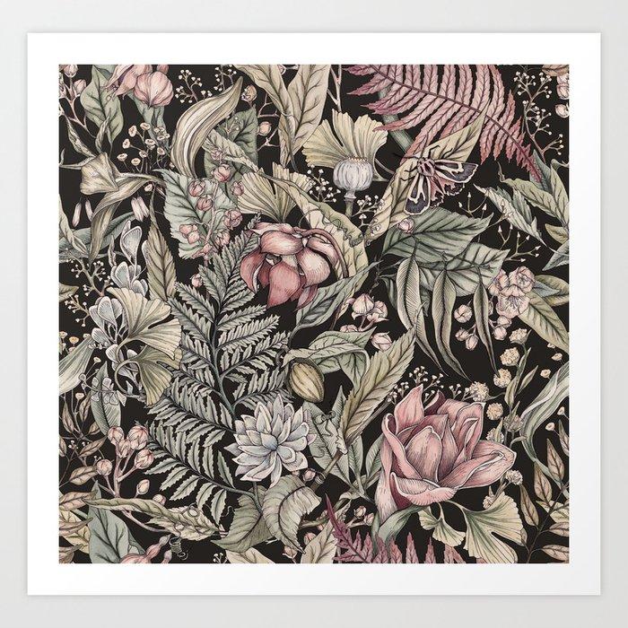 Flora And Fauna Art Print By Katywiedemann Society6