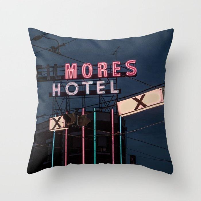 Dundas Street East Throw Pillow
