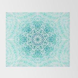 Mehndi Ethnic Style G344 Throw Blanket