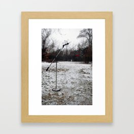 Microphone1 Framed Art Print
