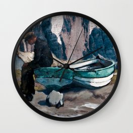 Beached Wall Clock