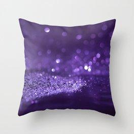 Glitter Bokeh Texture 10 Throw Pillow