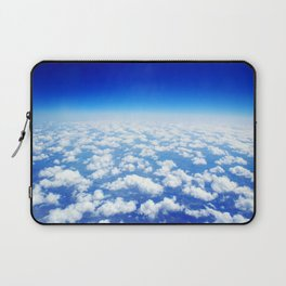 Looking Above the Clouds Laptop Sleeve