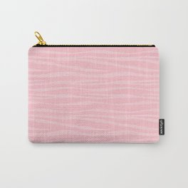Zebra Print - Pink Marshmallow Carry-All Pouch