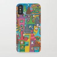 the neighbourhood iPhone & iPod Cases featuring Neighbourhood by Raquel Benmergui