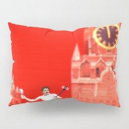 SquaRed: The Clocks Pillow Sham