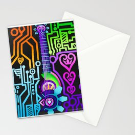 Fusion Keyblade Guitar #47 - Overdrive & Proton Debugger Stationery Cards