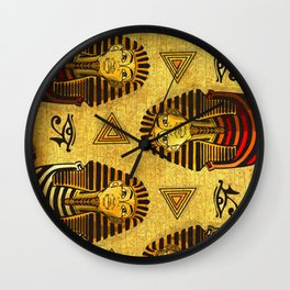 Pharaonic Wall Clock
