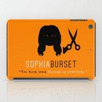 oitnb iPad Cases featuring Sophia Burset | OITNB by Sandi Panda
