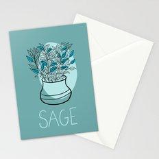 Sage Stationery Cards