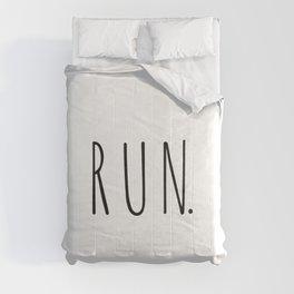 Running sport gift | Gift for runners Comforters