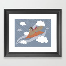 The Flying Squirrel Framed Art Print