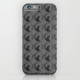 Magic cute black dog iPhone Case