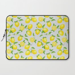 You're the Zest - Lemons on White Laptop Sleeve