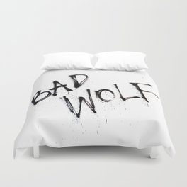 Doctor Who bad wolf Duvet Cover