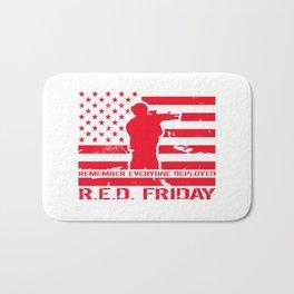 RED Friday Bath Mat