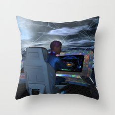 Planetary Exploration Throw Pillow