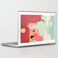 cowboy Laptop & iPad Skins featuring Little cowboy  by Orelly