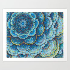 Birthday Mandala Art Print