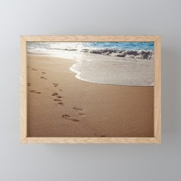 Footprints Framed Mini Art Print