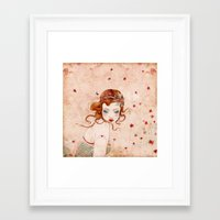 lolita Framed Art Prints featuring Lolita by Minasmoke