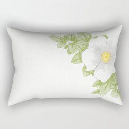 Georgia Cherokee Rose Rectangular Pillow