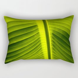 Green Rectangular Pillow