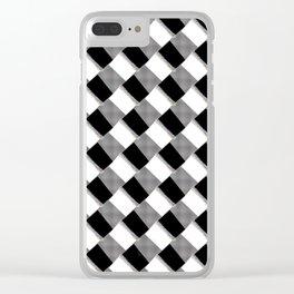 Heleni Harlequini Clear iPhone Case