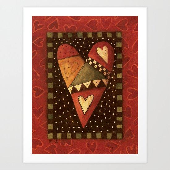 Crazy For Love Art Print