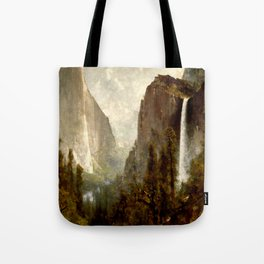 Bridal Veil Falls, Yosemite Valley 1892 Tote Bag