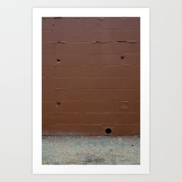 Brown Wall Art Print