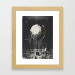 Geometric Landing Framed Art Print