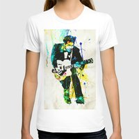 chuck T-shirts featuring chuck berry by manish mansinh