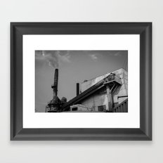 Dirty Industry Framed Art Print
