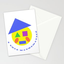 Mister Mathematic Stationery Cards
