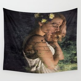 Flower Princess II Wall Tapestry