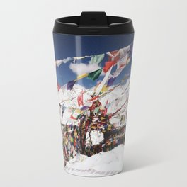 Prayers in the Wind Travel Mug
