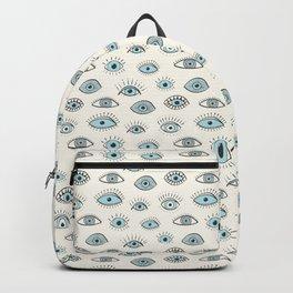Eyes! - light blue Backpack