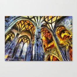 Vienna Cathedral Vincent Van Gogh Canvas Print