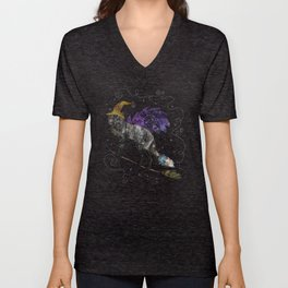 Midnight Vixen Unisex V-Neck