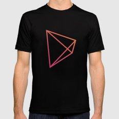 Geometry MEDIUM Mens Fitted Tee Black