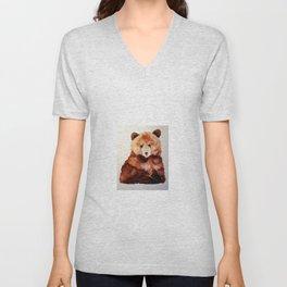Little Bear Necessities Unisex V-Neck